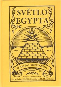 Obálka titulu Světlo Egypta