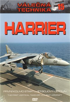 Obálka titulu Harrier