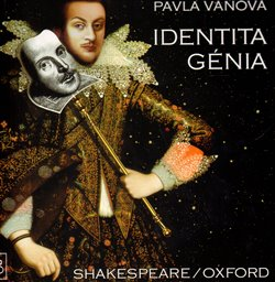 Obálka titulu Identita génia   Shakespeare/Oxford