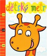 Dětský metr - žirafa - Axióma