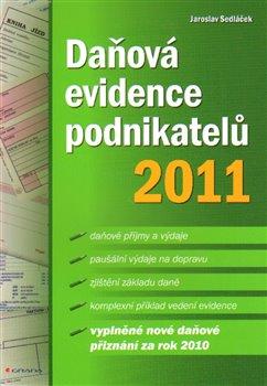 Obálka titulu Daňová evidence podnikatelů 2011