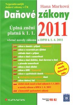 Obálka titulu Daňové zákony 2011 /Grada/