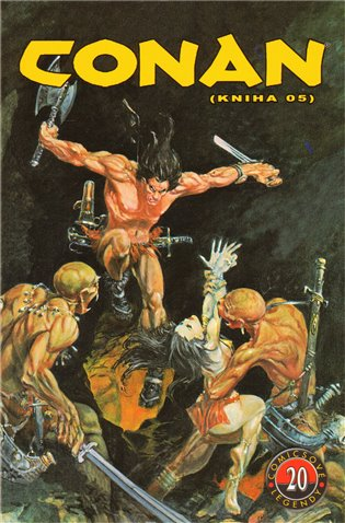 Comicsové legendy 20: Conan 5 - John Buscemi, | Booksquad.ink