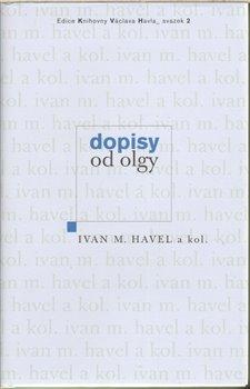 Obálka titulu Dopisy od Olgy