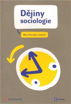 Obálka titulu Dějiny sociologie