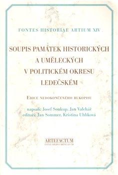 Obálka titulu Soupis památek historických a uměleckých v politickém okreu ledečském