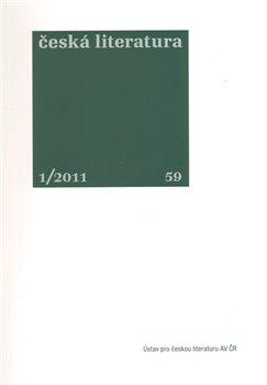 Obálka titulu Česká literatura 1/2011