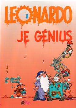 Obálka titulu Leonardo je génius