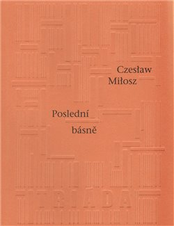 Obálka titulu Poslední básně