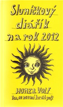 Obálka titulu Sluníčkový diářík na rok 2012