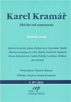 Obálka titulu Karel Kramář