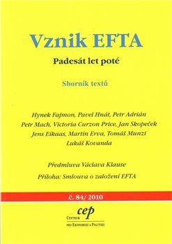 Obálka titulu Vznik EFTA