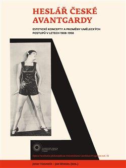 Obálka titulu Heslář české avantgardy