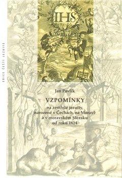 Obálka titulu Vzpomínky na zemřelé jezuity, narozené v Čechách, na Moravě a v moravském Slezsku od roku 1814