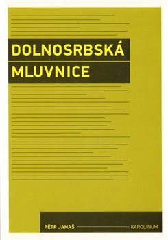 Obálka titulu Dolnosrbská mluvnice