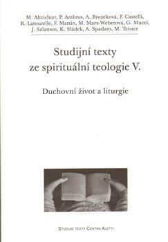 Obálka titulu Studijní texty ze spirituální teologie V.