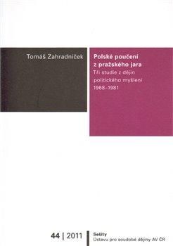 Obálka titulu Polské poučení z pražského jara