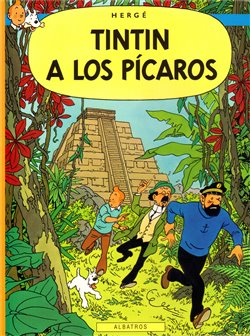 Obálka titulu Tintin - Tintin a los Pícaros