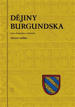 Obálka titulu Dějiny Burgundska