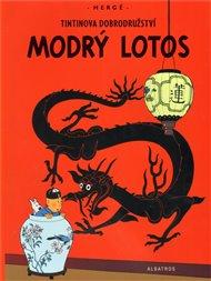 Tintin - Modrý lotos