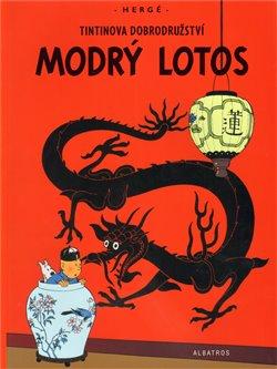 Obálka titulu Tintin - Modrý lotos