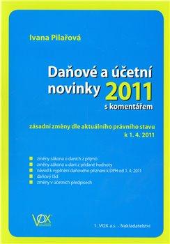Obálka titulu Daňové a účetní novinky 2011