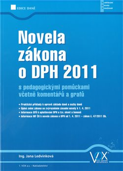 Obálka titulu Novela zákona o DPH 2011