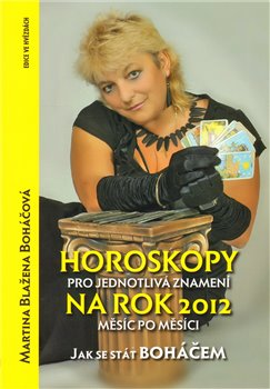 Obálka titulu Horoskopy pro jednotlivá znamení na rok 2012