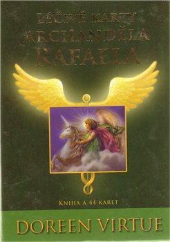 Obálka titulu Léčivé karty archanděla Rafaela