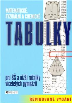 Obálka titulu Matematické, fyzikální a chemické tabulky