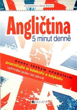 Obálka titulu Angličtina – 5 minut denně