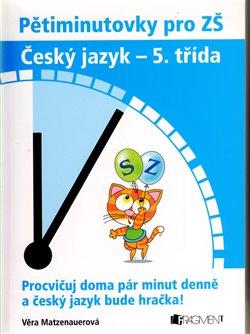 Obálka titulu Český jazyk 5. třída