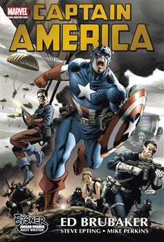 Obálka titulu Captain America - omnibus 1