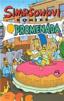 Obálka titulu Simpsonovská komiksová promenáda