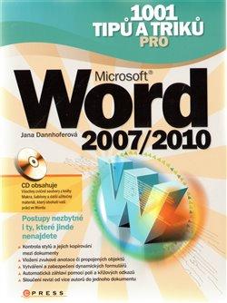 Obálka titulu 1001 tipů a triků pro Microsoft Word 2007/2010