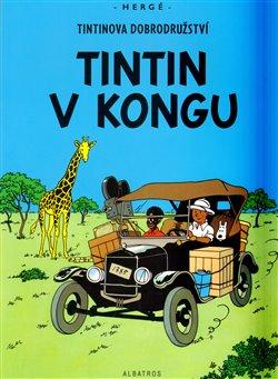 Obálka titulu Tintin v Kongu
