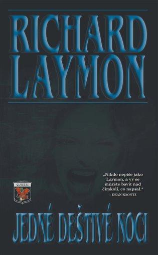 Jedné deštivé noci - Richard Laymon   Booksquad.ink