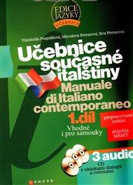 Učebnice současné  italštiny, 1. díl + 3 audio CD