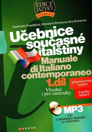 Učebnice současné  italštiny, 1. díl – CD MP3