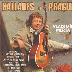 Obálka titulu Ballades de Prague