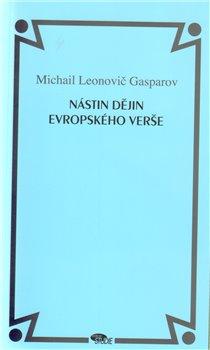Obálka titulu Nástin dějin evropského verše