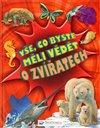 Obálka knihy Vše, co byste měli vědět o zvířatech