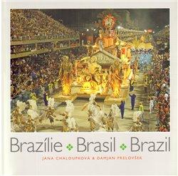 Obálka titulu Brazílie. Brasil. Brazil