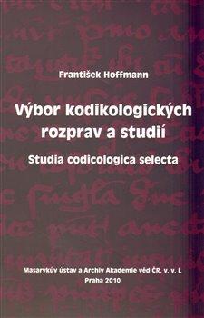 Obálka titulu Výbor kodikologických rozprav a studií
