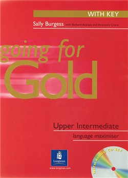 Obálka titulu Going for Gold UPP-INT Exam Maximiser (with Key) and Audio CD*