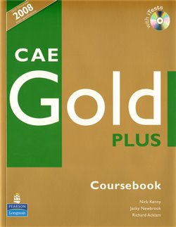 Obálka titulu CAE Gold Plus Coursebook with iTest CD-ROM