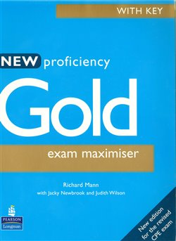 Obálka titulu New Proficiency Gold Exam Maximiser (with Key)