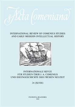 Obálka titulu Acta Comeniana 24
