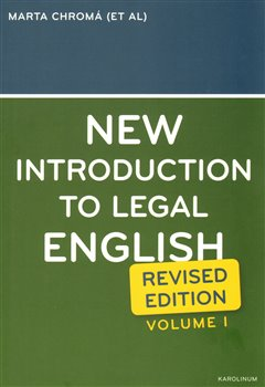 Obálka titulu New Introduction to Legal English I.