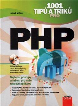 Obálka titulu 1001 tipů a triků pro PHP